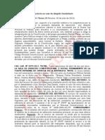 Competencia Por Razon de Materia en Caso Despido Fraudulento