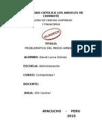 Contaminacion Ambiental Dj