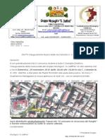 convocazione soci inaugurazione sede  novembre 2015 de luca