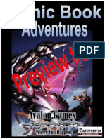 Comic Book Adventures Preview 3