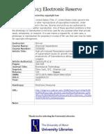 High PH-Induced Flocculation Sedimentation of Algae