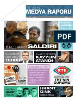 Türkiye Medya Raporu Ekim 2015