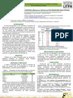 Congresso SZB 2015 - Análise Da Dieta Do Cervo-do-pantanal No Criadouro Onça Pintada