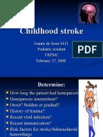 Childhood Stroke