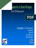 recent Research on Steel Bridges