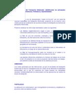 Análisis DAFO del Transporte Intermodal