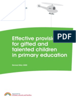 Effective Provision Primary G T Primary