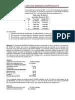 EJERCICIOS.presupuesto de Capital