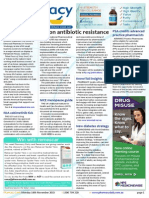 Pharmacy Daily for Mon 16 Nov 2015 - FIP on antibiotic resistance, WA registration cancelled, GSK takes Sigma prize, Weekly Comment and much more