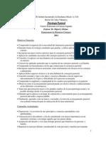 SITB 1 - Psicología Pastoral - Programa 2014 Dr. Miguel Ekizian (Anual)
