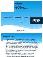 Seminário de Entomologia Agricola UFPI