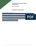 TJSC FGV 2015 Analista de Sistemas Gabarito_preliminar