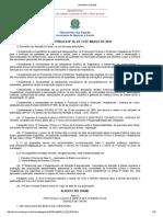 Ministério Da Saúde - Consulta Pública Nº 16, De 31 de Março de 2010