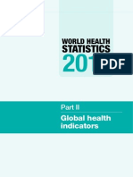 World Health Statistics