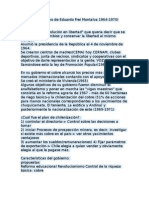 Resumen Gobierno de Eduardo Frei Montalva 1964