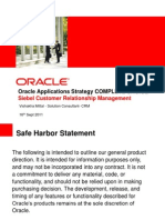 Oracle Application Strategy CRM