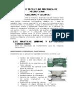 Informe Tecnico de Mecanica de Produccion.3docx