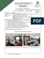 Laporan Hasil Pelatihan Penggunaan APAR 2014-1