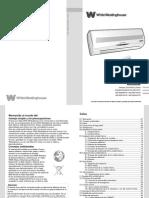 White-Westinghouse - Acondicionador de Aire Split