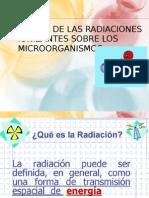 Accion de Las Radiaciones Ionizantes en Microorganismos (1)