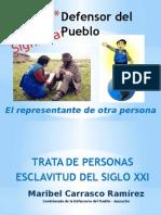 la trata de personas (Perú)