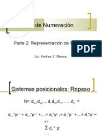 Matematica ..Sistemas de Numeracion Reales