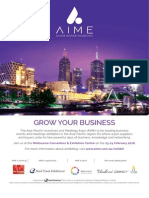 Business Events News for Mon 16 Nov 2015 - China events market, Geelong guide,Tourism Australia, Sheraton, AIME, Melbourne Convention Bureau AMPERSAND much more