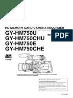 Manual Cámara Jvc 750