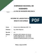 Ensayo Dureza