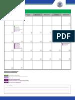 Calendario Operacional Uniderp 2015 2