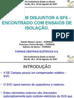 E11 - Defeito Em Disjuntor SF6 Encontrado Em Ensaio Doble -