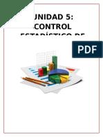 Control estadistico de datos