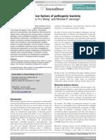 Virulence Factors of Pathogenic Bacteria