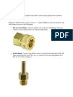 Types of Fittings