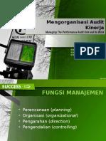 Mengorganisasi Audit Kinerja - Edit