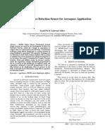 Sensor for Aerospace Application