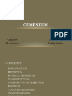 Cementum – a dynamic structure uday.pptx