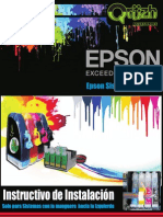 Manual de Instalacion Tintas