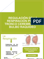 Regulación de La Respiración Por El Tronco Cerebral