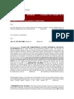 CASACIÓN Derecho Internacional Privado Matrimonio