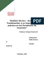 Analisis Tecnico Fundamental