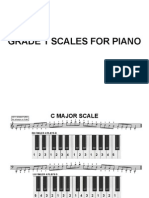 Scales for Piano