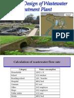 Waste Water Plant Design