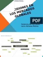 Toma de Decisiones Mercados Globales