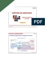 Desarrollo Del Concepto de Servicios