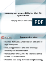 Session 1 Oracle Portal Usability and Accessibility for WEB 2 0 Applications by Allan Jansen - UberConsult