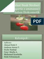 Manfaat Buah Stroberi (Fragaria x Ananassa)