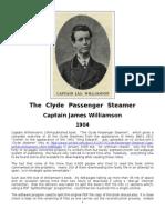 Clyde Passenger Steamer - 00 - Captain James Williamson - 1904