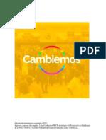 Cambiemos - Informe de Transparencia Económica 2015