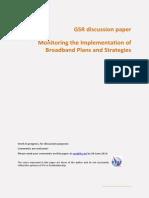 Session 9 GSR14 - Discussion Paper - MonitoringBroadband